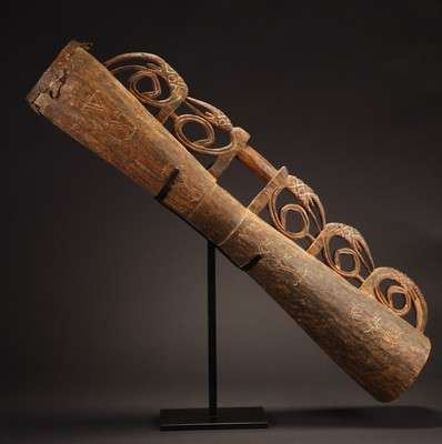 OC520 : Large Asmat Drum