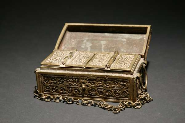 PH537 : Philippine Brass Box