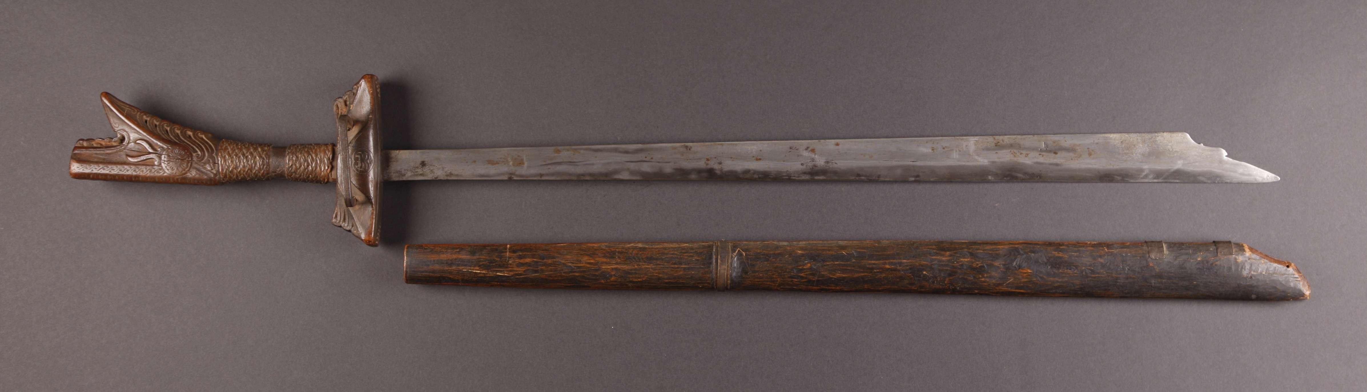 PH669 : Moro Kampilan Sword