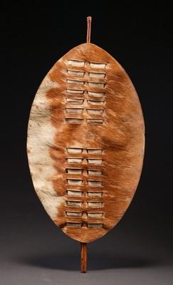 Tribal Art :: African Art :: AF503 :: Zulu Shield :: Farrow