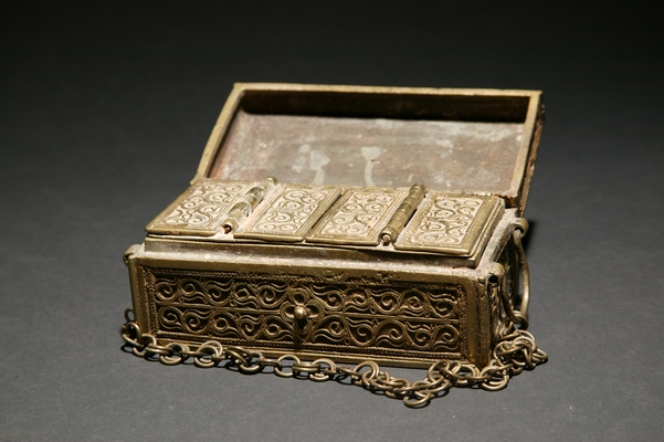 PH537 : Philippine Brass Box
