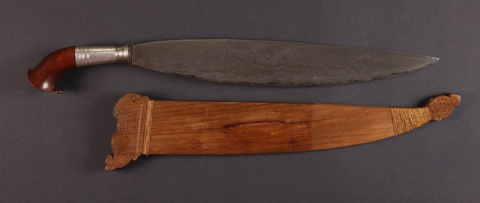 PH636 : Moro Battle  Barong Sword
